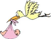 Congratulazioni al neo-zio per la nascita di una nipotina
