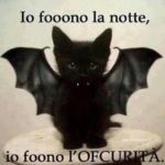 Buona notte di brividi….. Halloween night is coming..!
