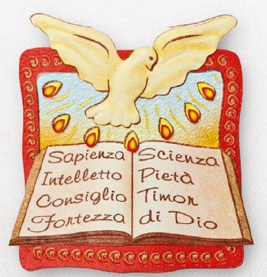 Oggi, nella Cresima, ricevi il sigillo dello Spirito Santo