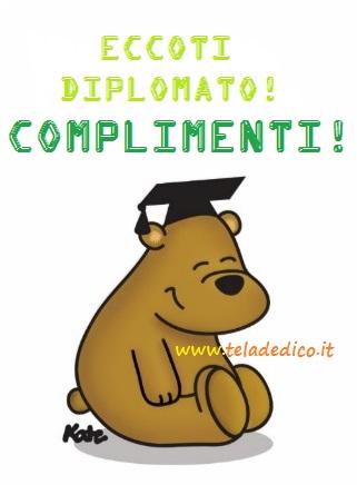 Eccoti diplomato!!!