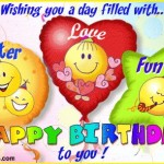 Auguri per un compleanno entusiasmante!!!