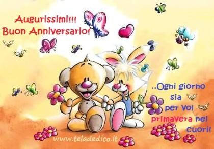 Oggi ricorre il vostro anniversario!
