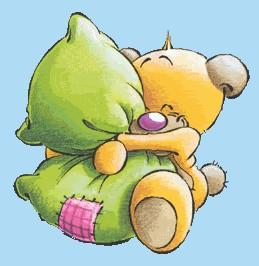 Ti voglio un.. cuscino di bene!!! Buonanotte!