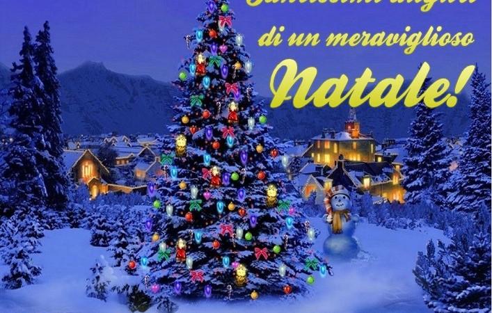 Auguri di buon Natale a tutti voi!