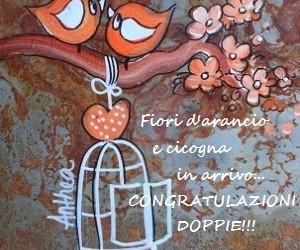 Messaggio di congratulazioni per un'amica incinta e prossima al matrimonio