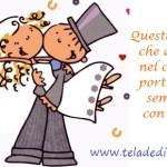 Auguri per un matrimonio radioso