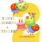 Due candeline sono già pronte per essere spente.. Buon compleanno!!