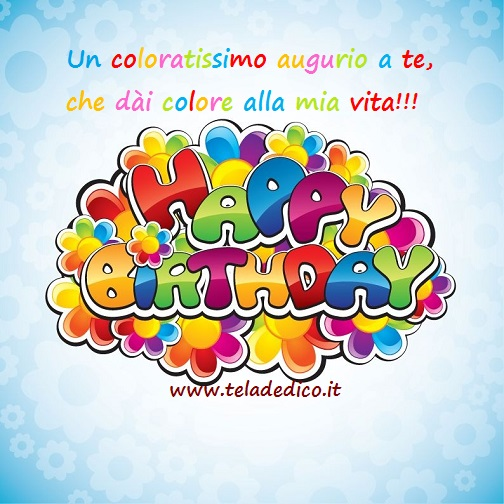 Favoloso Auguri di compleanno | WE25