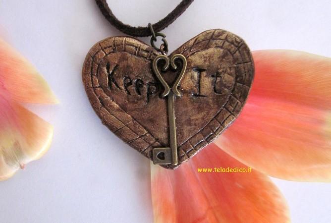 A te che custodisci la chiave del mio cuore